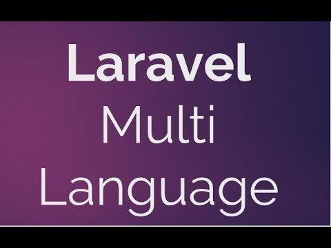 Laravel multiple languages - ehocdi