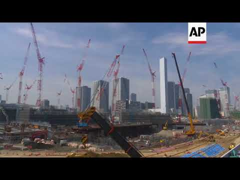 Tour of venues for Tokyo 2020 Olympics