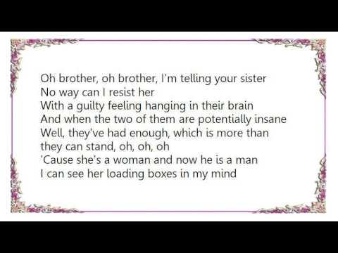 Hüsker Dü - She's a Woman And Now He Is a Man Lyrics