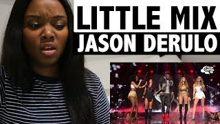 Little Mix - Secret Love Song FT. Jason Derulo - REACTION!