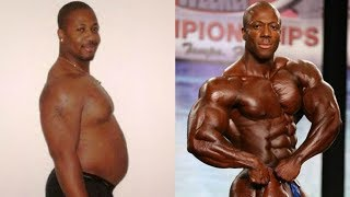 """Shawn """"Flexatron"""" Rhoden transformation from 19 to 42 years old"""