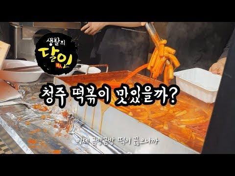 [쭌스맘 vlog]주부일상 브이로그/생활의달인 청주 떡볶이/공원아줌마 떡볶이/쫄쫄이 호떡/청주 맛집/40대주부