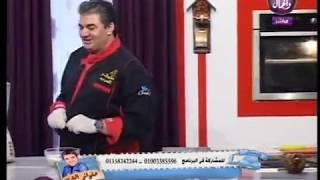 حلواني العرب| الشيف : قدري .. الجاتو شاتو ...جاتو شاتو فراولة 30 - 9 -2018