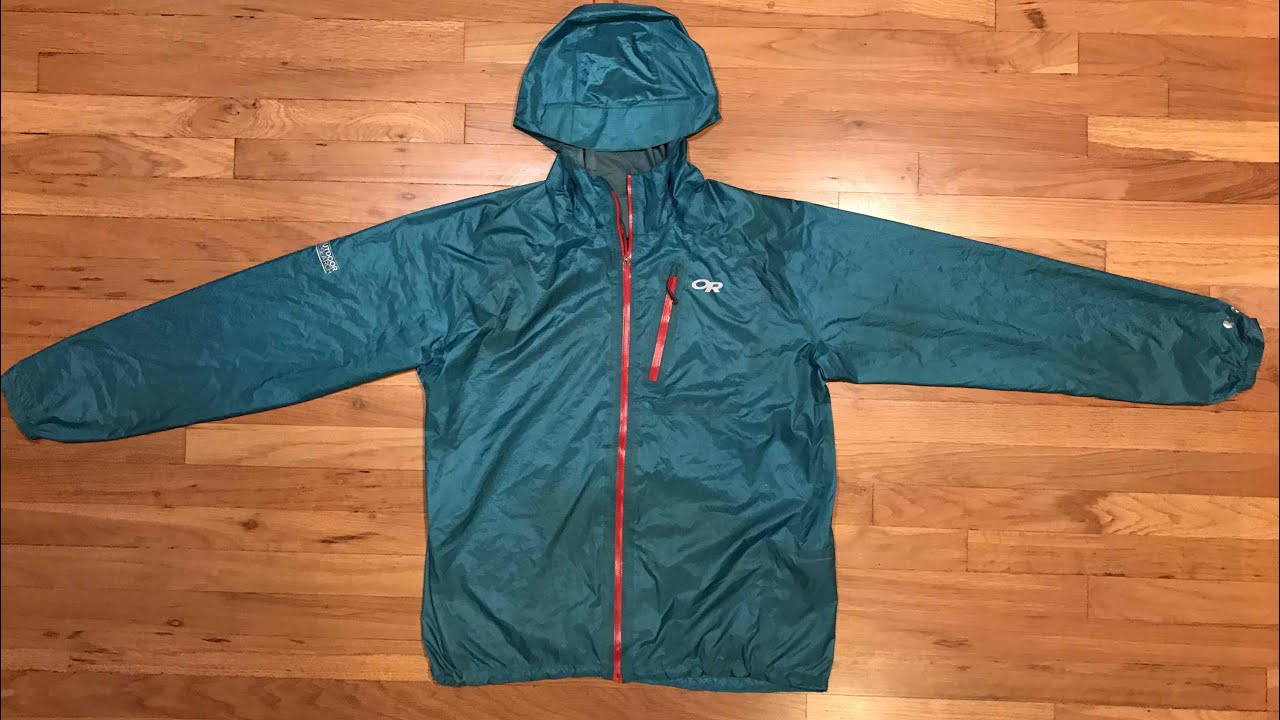 Outdoor Research Helium Ii Rain Jacket Review Youtube