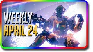 Destiny 2 - Garden World & Mayhem! April 24th (Apr 24 Weekly Reset, Nightfall, Weekly Milestones)