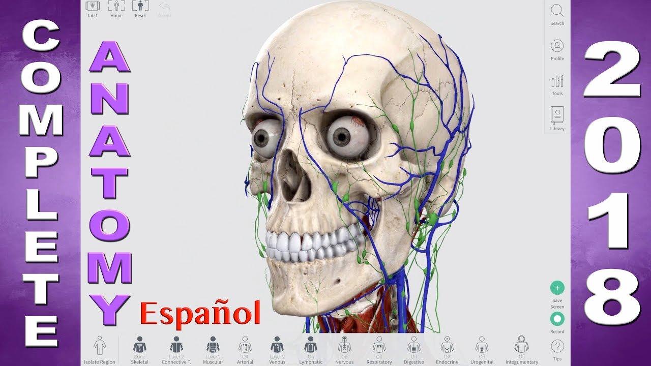 Complete Anatomy 2018 - en Español