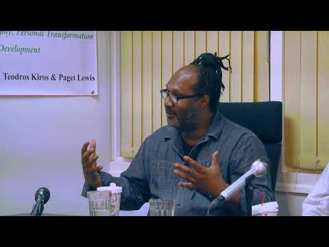 A Discussion On Africana Philosophy; Personal Transformation And Economic Development - PART 1