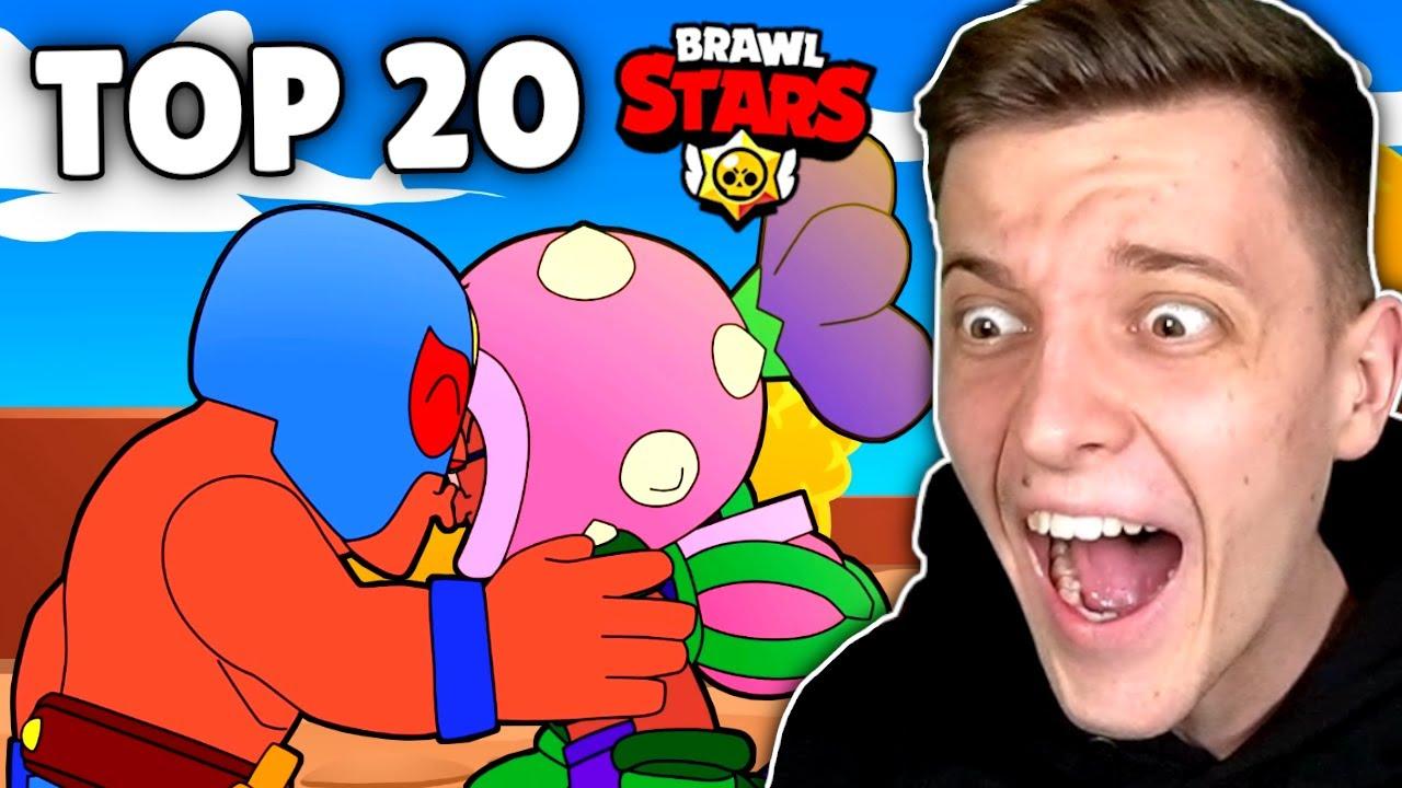 TOP 20 BRAWL STARS ANIMATION VIDEOS! *OMG* ?