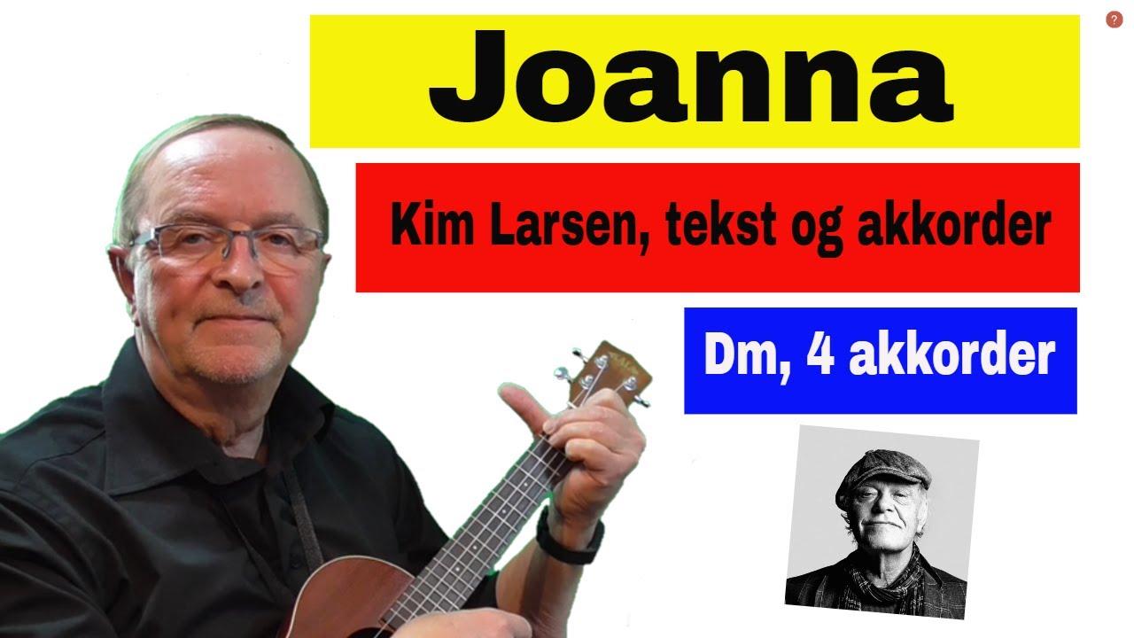 Joanna | Kim Larsen cover | Lær at spille ukulele, guitar | Becifring