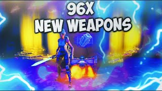 Scammer Gets Scammed For 96x New Weapons! In Fortnite Save The World Pve - EazyDrop