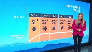 התחזית 23.08.19: עומס חום כבד