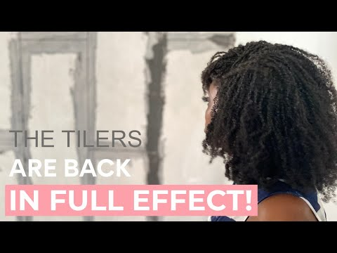 The Tilers Are Back And Ready To Work! | Building Our Dream Home In Ghana