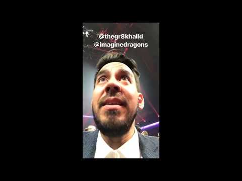 the saga of linkin park getting kicked out at the ama's by m_shinoda | 11.19.17