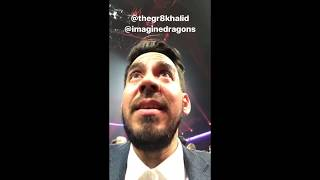 "the saga of linkin park getting ""kicked out"" at the ama's by m_shinoda 