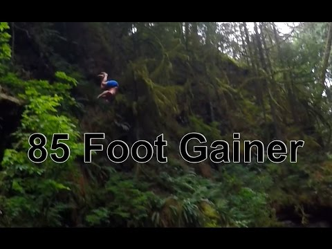 Lynn Canyon Cliff jumps 85 foot gainer