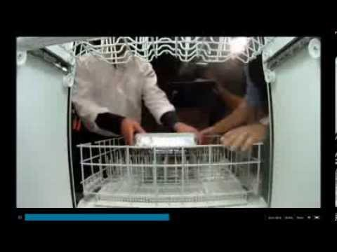 What Goes On Inside a Dishwashing Machine? Also, Anyone Fancy a Glass-Fronted One?