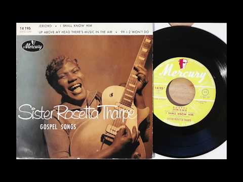 "SISTER ROSETTA THARPE jericho MERCURY french EP"""