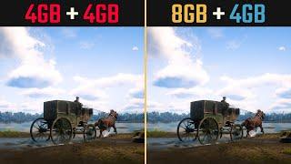 8GB + 4GB RAM vs. 4GB + 4GB (D…