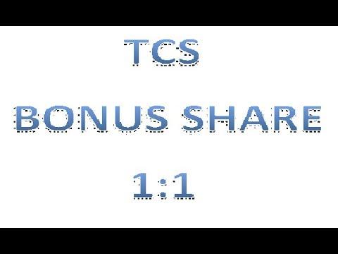 TCS Bonus Share