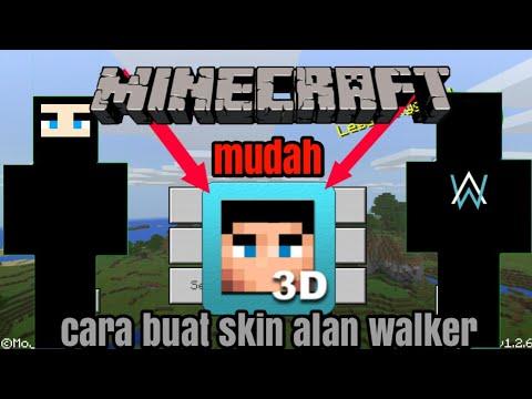 Cara Membuat Skin Alan Walker Di Minecraft