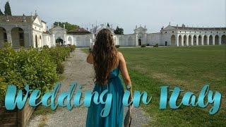 VLOG Свадьба друзей  в Италии! // Wedding in Italy!