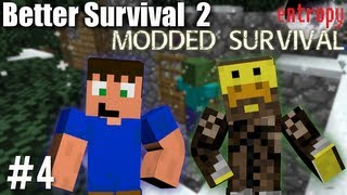 Construction - Better Survival 2 Ep. 4 - Modded Survival in Technic