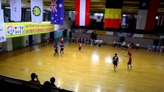 第三屆世界青少年巧固球錦標賽18歲男生組冠軍戰