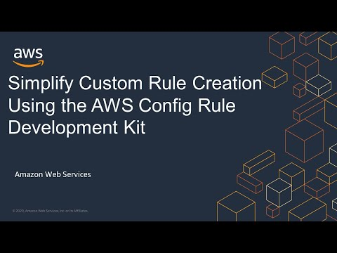 Simplify Custom Rule Creation Using the AWS Config Rule Development Kit