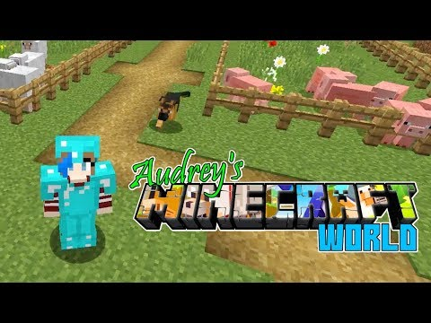 Audrey's Minecraft Survival World | Animal Pens