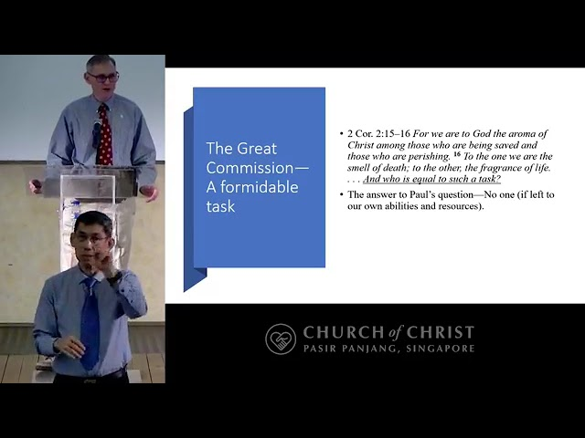 The Empowered Great Commission - Keith Gant