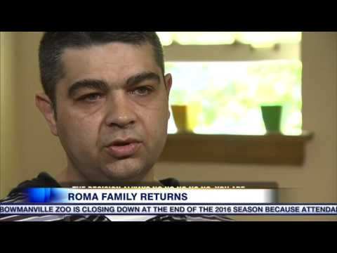 Video: Roma family to return to Canada after being deported