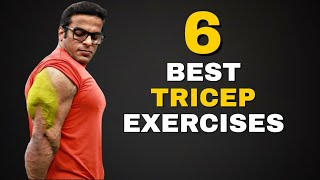 6 Best Dumbbell Tricep Workout | Yatinder Singh