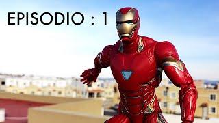 EP-1.  Los nuevos VENGADORES!  Después de infinitywar (stop motion)