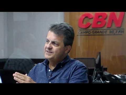 Entrevista CBN Agro: Presidente do CRMV/MS João Vieira.