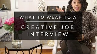 What To Wear To A Creative Job Interview