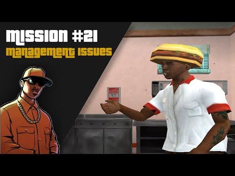 """GTA : San Andreas   Mission #21 - """"Management Issues"""""""