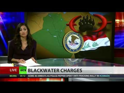 Four former Blackwater guards charged in 2007 Iraq massacre