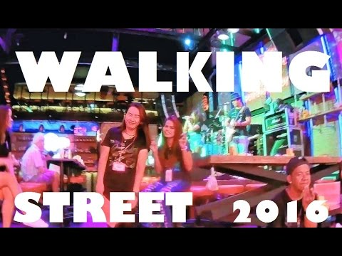 PATTAYA WALKING STREET  JUNE 2016 – THAILAND NIGHTLIFE VLOG