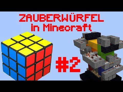 Zauberwürfel in Minecraft Folge 2: Die Fortsetzung der einzelnen Flächen