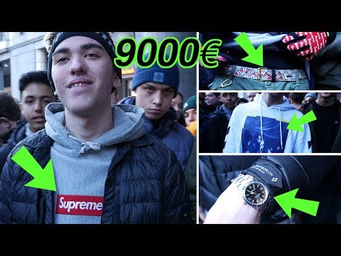 Quanto costa il tuo Outfit??con Gucci e Rolex!! 9000 euro