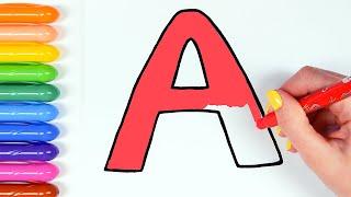Фото Алфавит. Азбука. Учим буквы. Для детей.