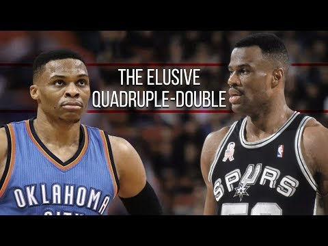 4 NBA Players Who Recorded Official Quadruple-Doubles