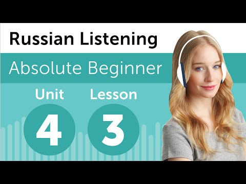 Russian Listening Comprehension - Shopping at a Boutique in Russia