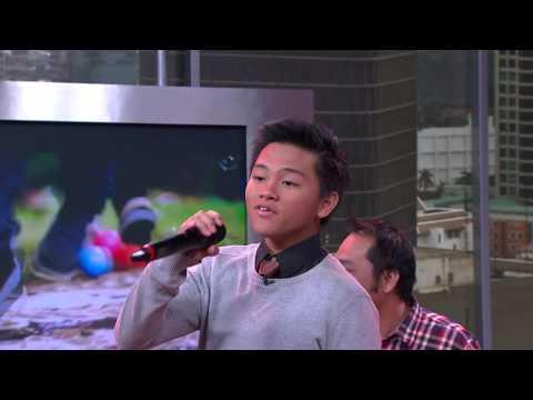Penampilan CJR Menyanyikan Lagu Bubble Gum - IMS