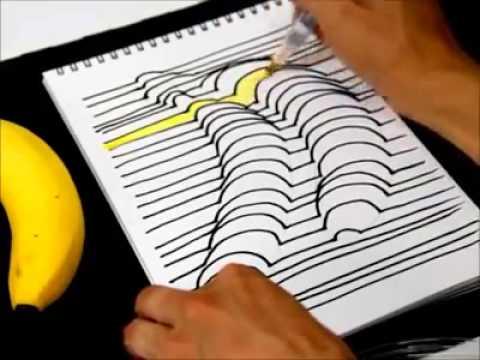 Cara Mudah Menggambar Efek 3D - YouTube