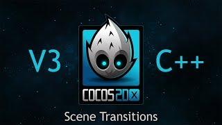 Cocos2d-x v3 C++ Tutorial 51 - Scene Transitions