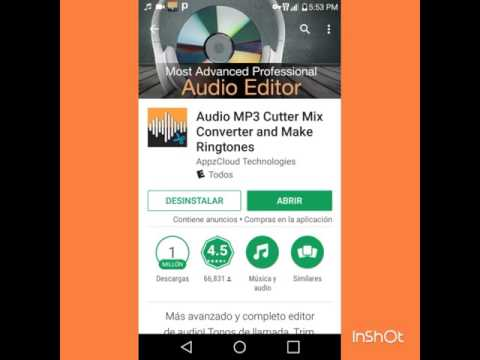 Editor de Audio mp3 mix