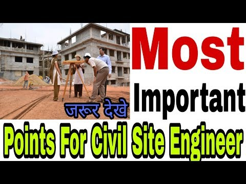 Civil Site Engineer Basic knowledge ,Basic Question for a civil Site Engineer
