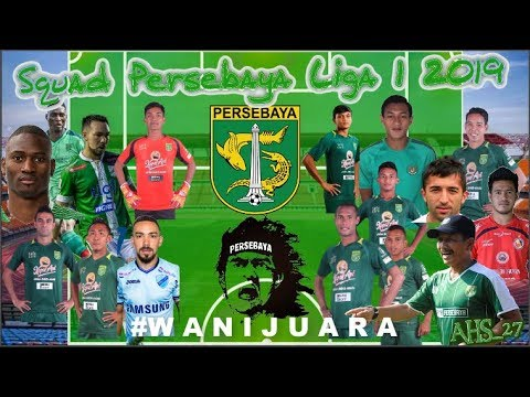 | Skuad Persebaya 2019 | Mengerikan !!! Skuad dan Line-up Utama Persebaya | #W A N I  J U A R A