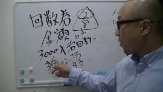 整骨院経営 集客 マーケティング 回数券シリーズ④金額決めは? thumbnail